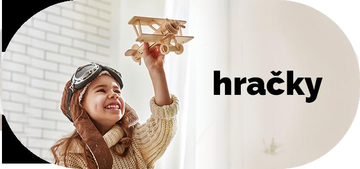Zobraziť drevené hračky pre deti, odrážadlá, detské domčeky...