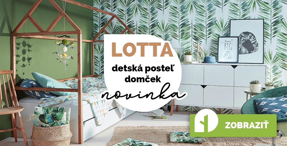 Detská posteľ domček Lotta