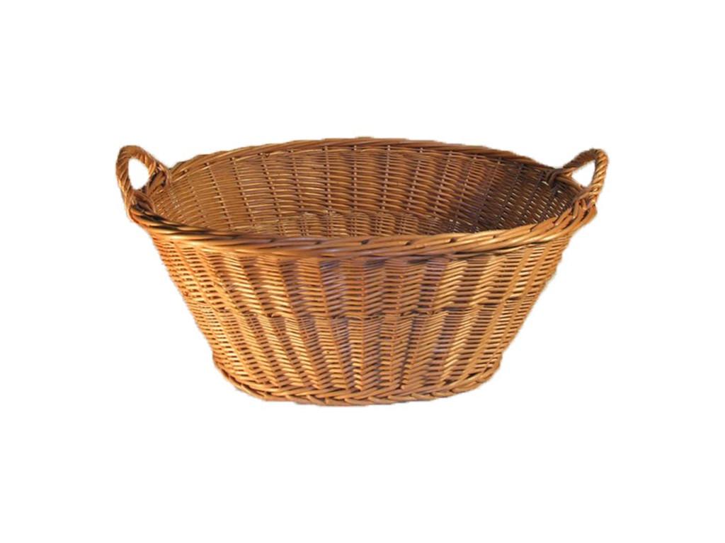 Prútený košík na prádlo a bielizeň