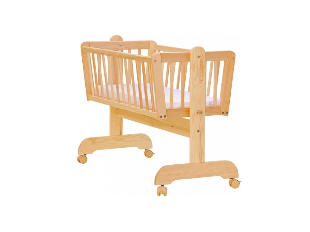 Kolíska pre bábätko, borovica - 90 x 41 cm