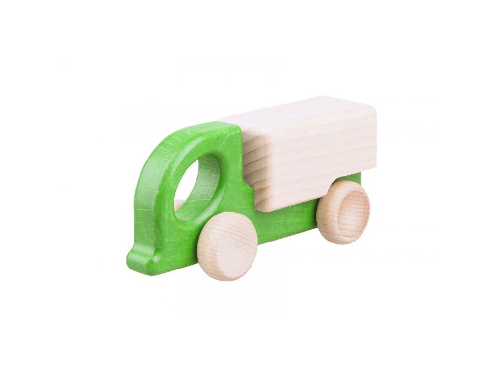 Drevený farebný kamión
