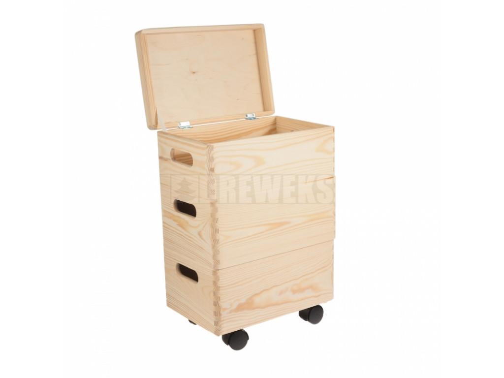 drevene boxy set maly