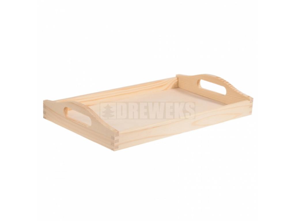 Klasický drevený podnos (3 veľkosti)
