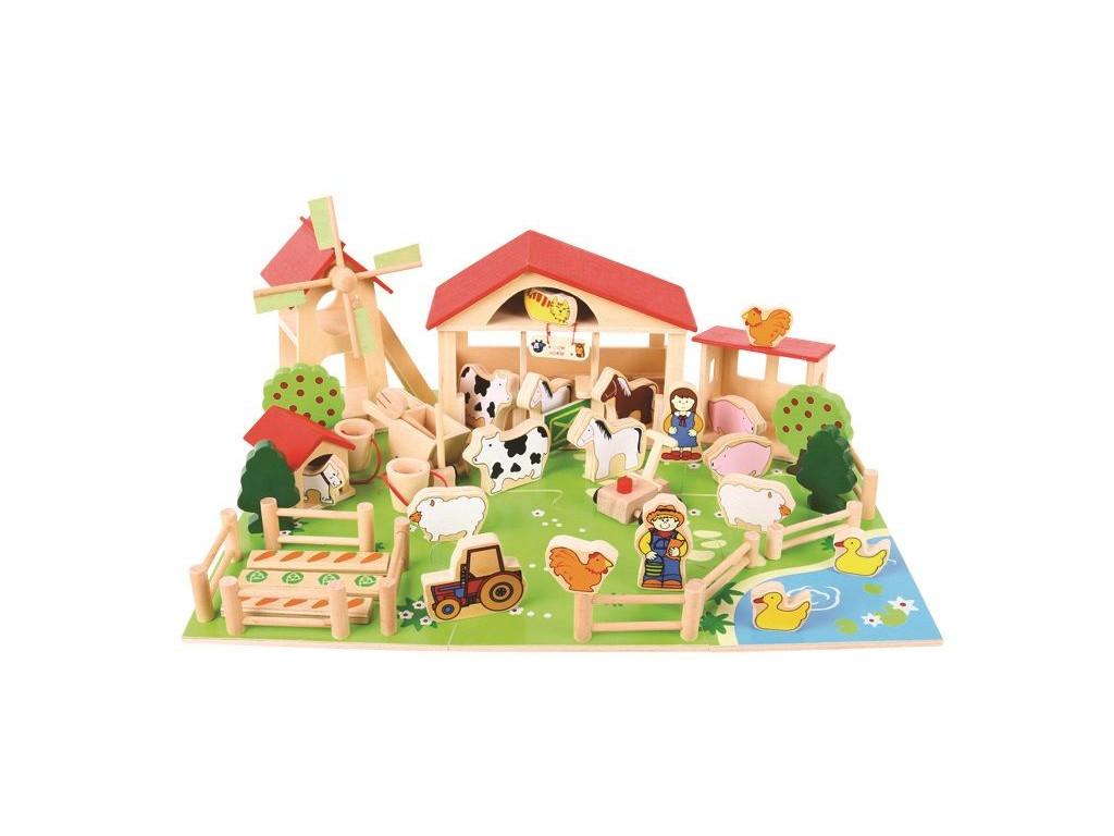 drevena farma 1