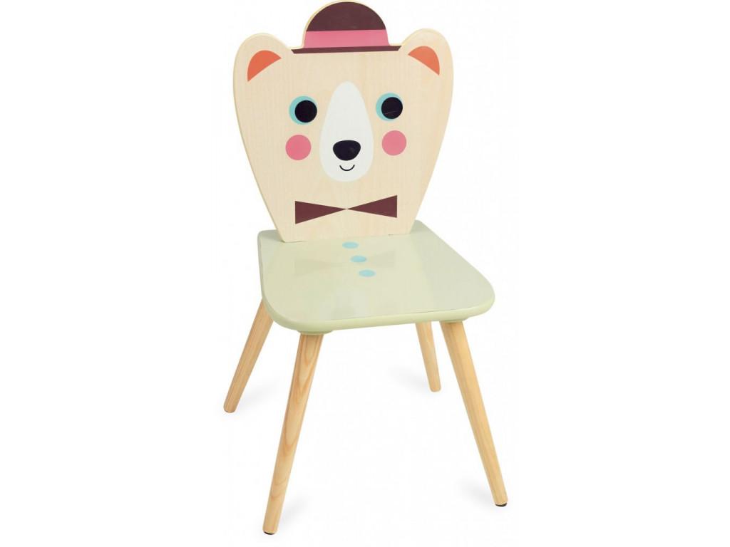 Stolička veselý medvedík1