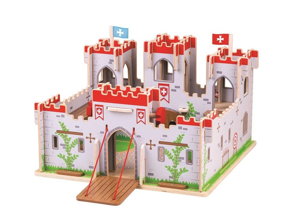 detsky hrad drevko