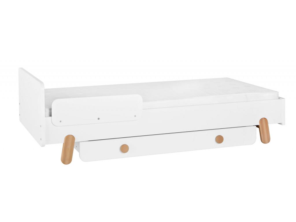 bed 200x90+guard rail+drawer