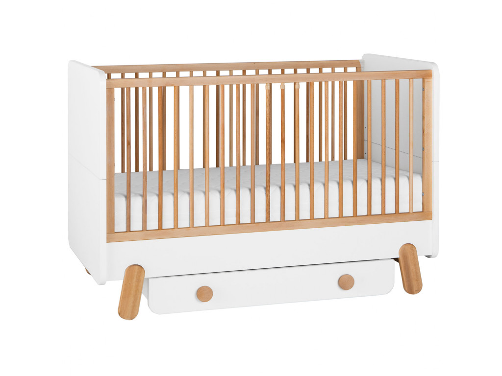cot bed 140x70+drawer
