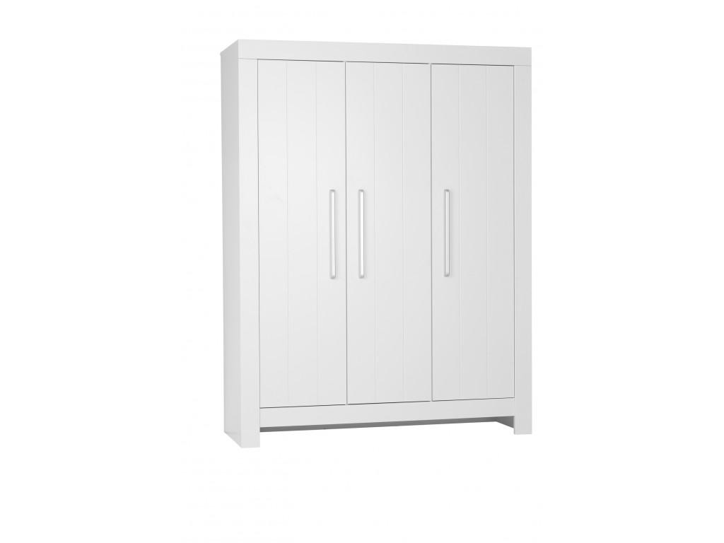 Calmo 3door wardrobe white 1