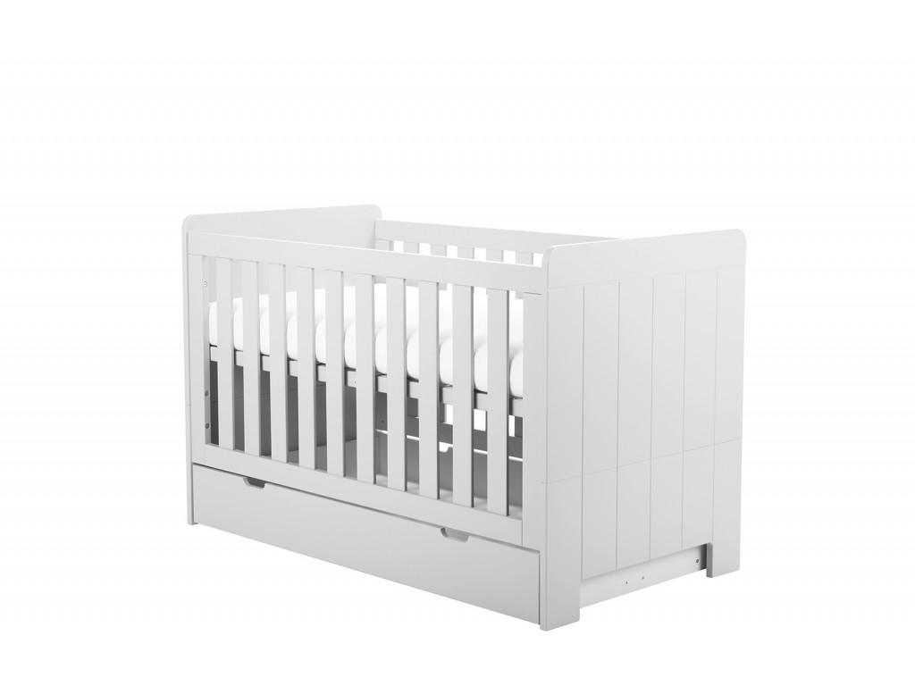 Calmo cot bed140x70 white 2