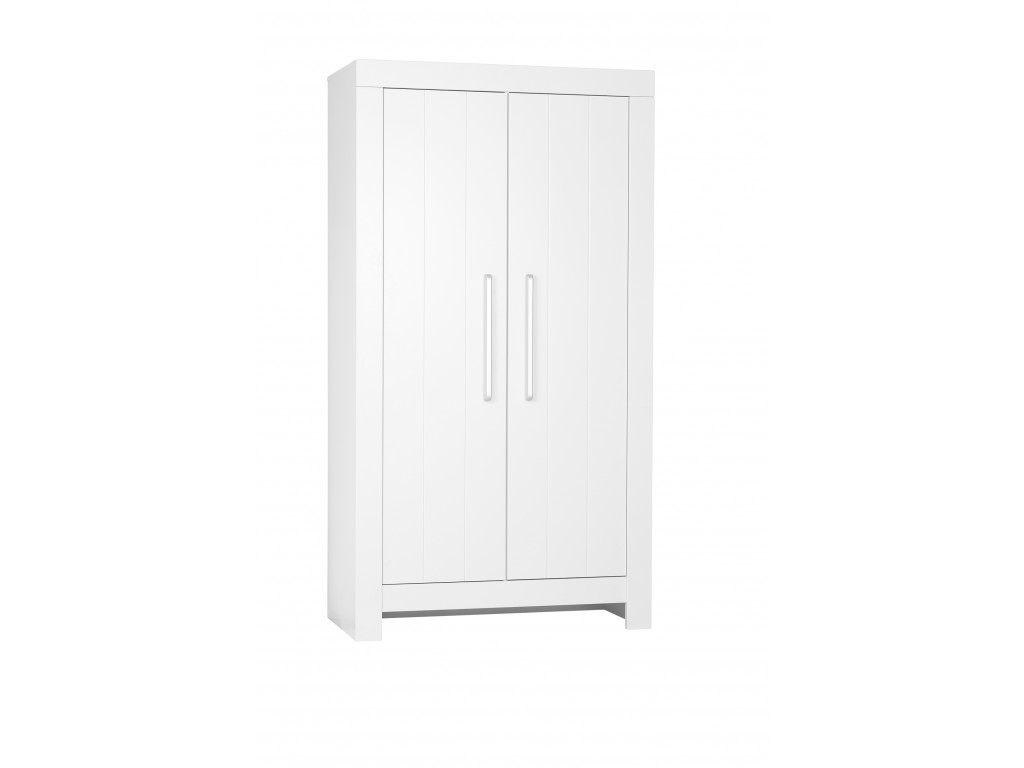 Calmo 2door wardrobe white 1