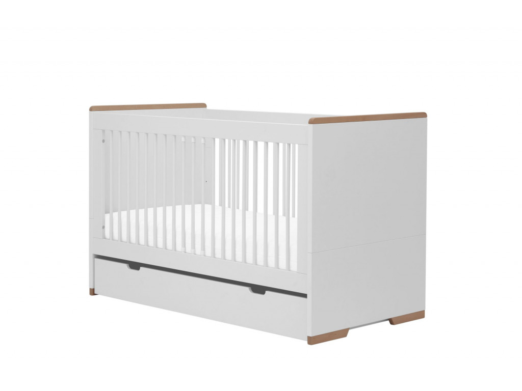 Snap cot bed140x70 white 4