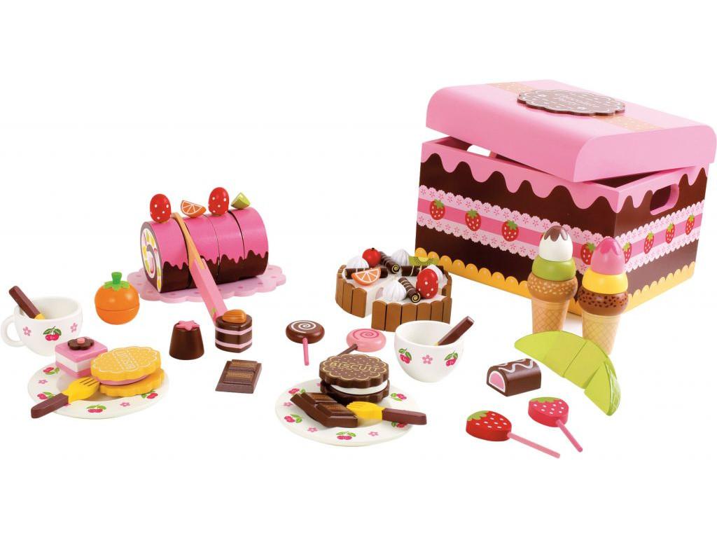 Box drevene sladkosti