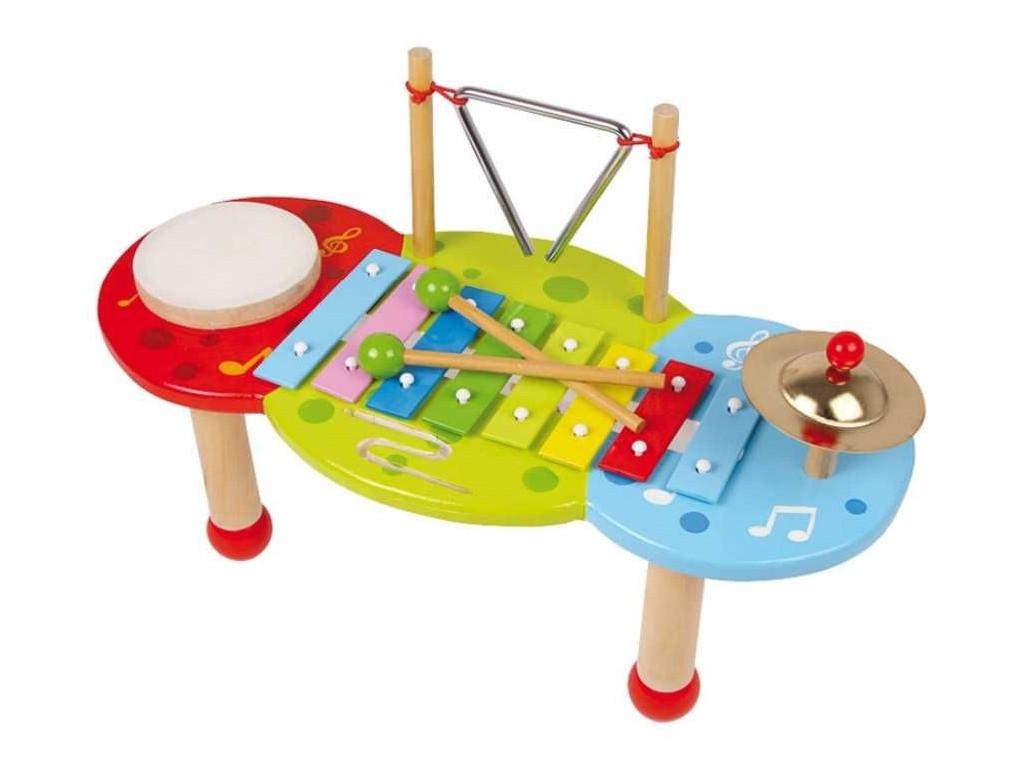 Drevene hracky xylofon deluxe