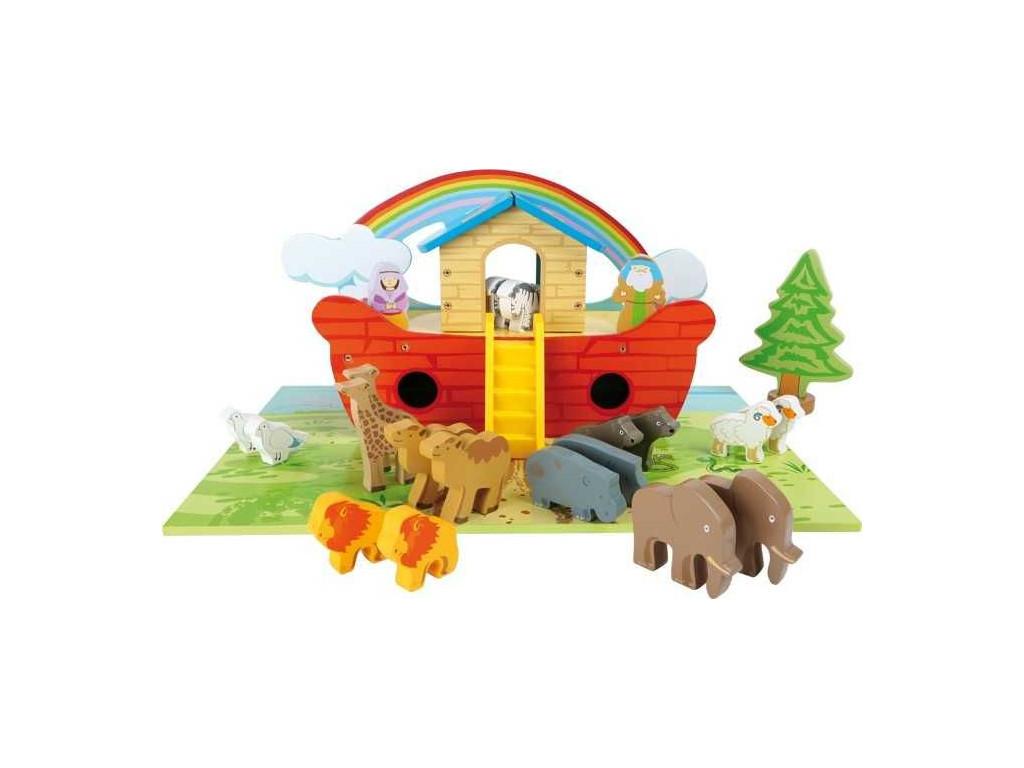 Hraci set drevena Noemova archa