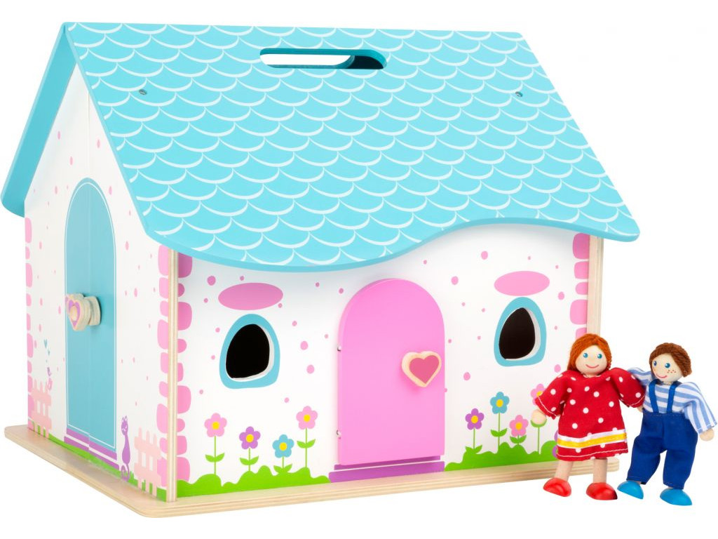 Dreveny skladaci domcek pre babiky