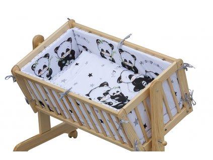 6-dielna kompletná súprava do kolísky Panda