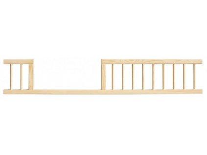 Ochranná bariéra / zábrana k postieľke - 140 cm
