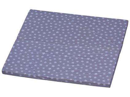 Matrac do ohrádky Hviezdičky - LANA, 150 x 150 cm