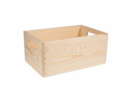 dreveny box malý