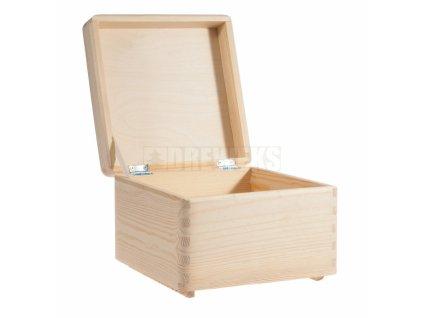 drevena škatuľa drevko