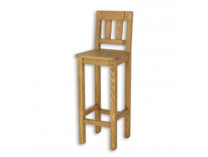 Barová stolička z masívu SIL 10