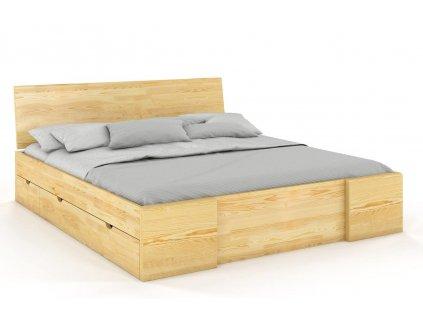 drevena postel hessler borovica 9
