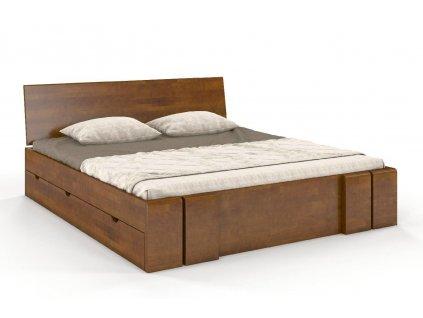 vestre postel z masivu buk ulozny priestor 6