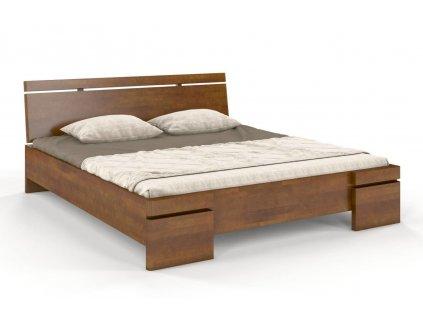 spatan maxi buk postel z masivu 7