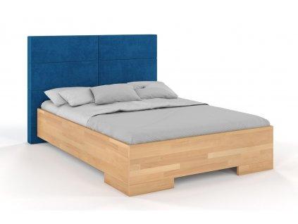 buk berg postel z masivu 7