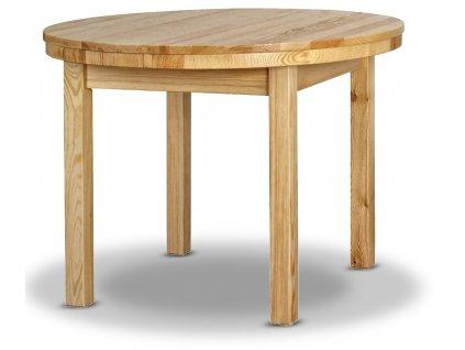 rozkladací okruhly stol modern 2