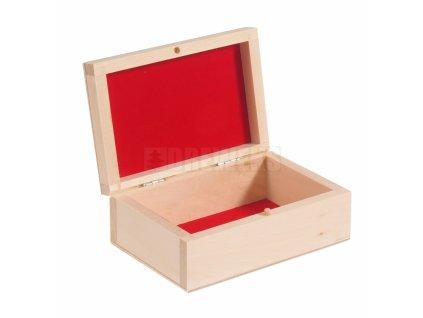 kasetka z czerwonym flokiem