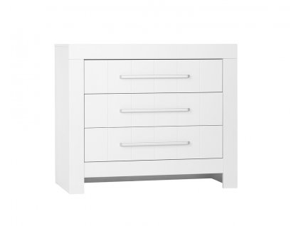 Calmo 3drawer chest white
