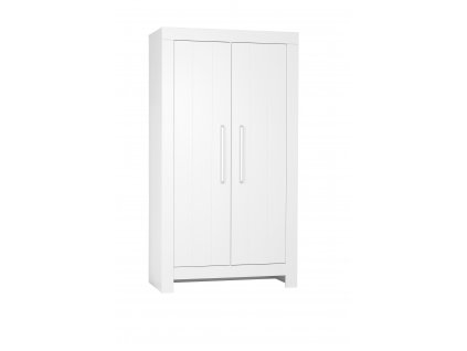 Calmo 2door wardrobe white 1