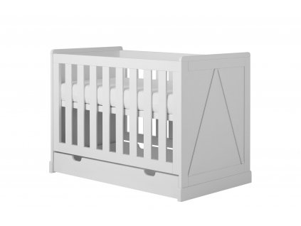 Marie cot120x60 white 3