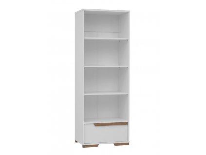 Snap bookcase white