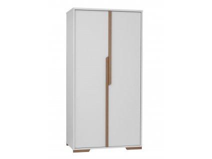 Snap 2door wardrobe white 1