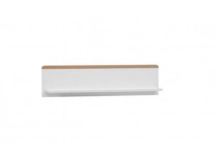 Snap wallshelf white