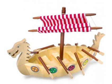 Drevena vikingska lod