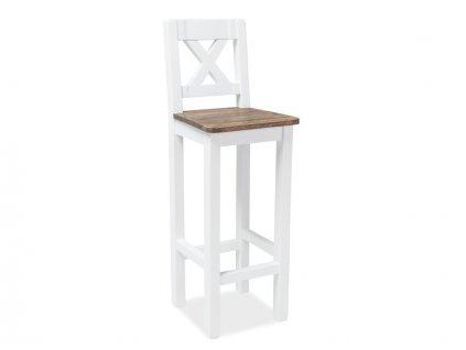Poprad barova stolicka biela