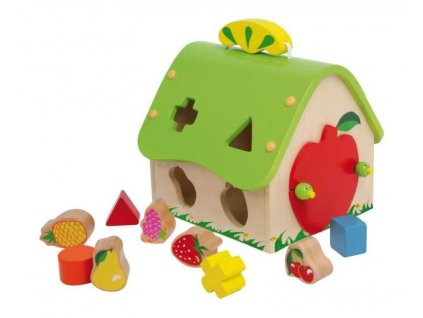 Drevena vkladacka ovocny dom
