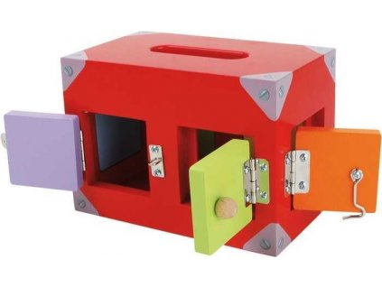 Box so zamkami motoricka hra