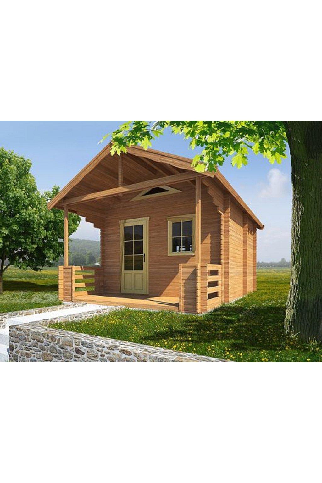 Zahradní chata 400x400