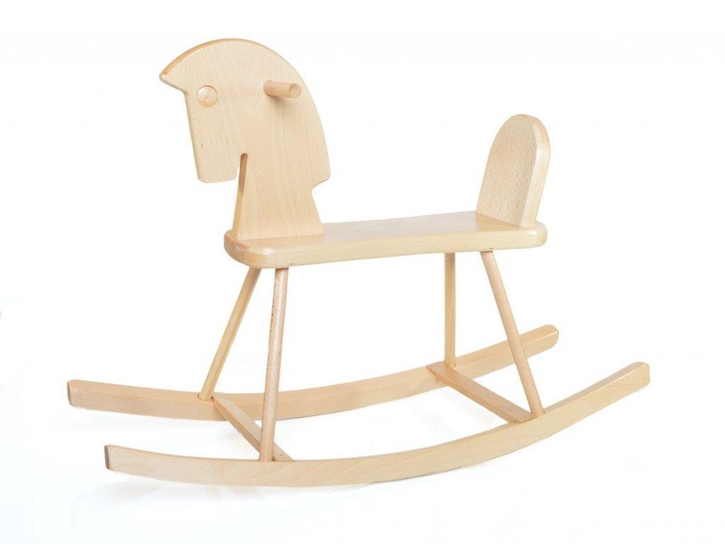 Dřevěný houpací kůň Adámek