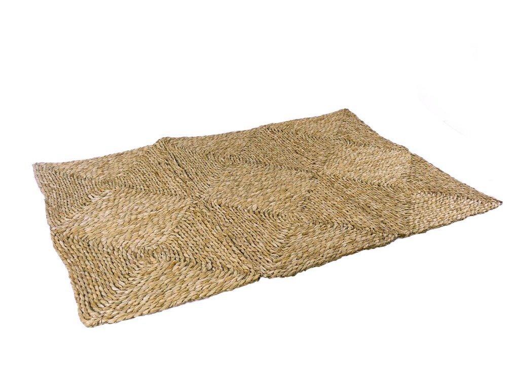 Rohož na podlahu - kostky - 60 x 90 cm