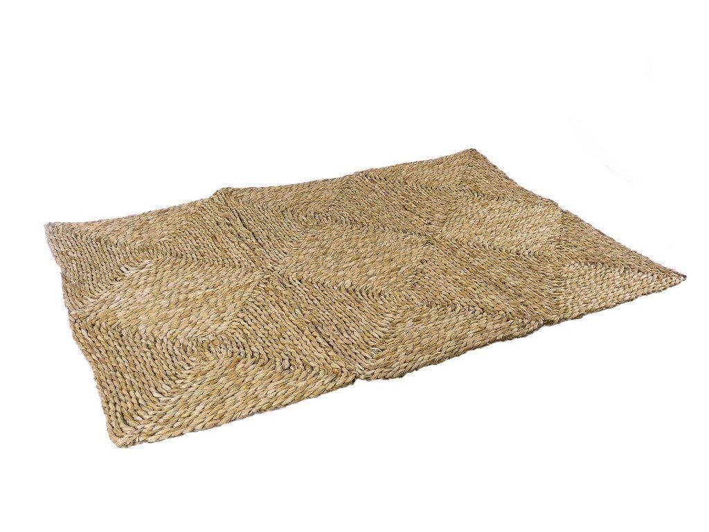 Rohož na podlahu - kostky - 90 x 180 cm