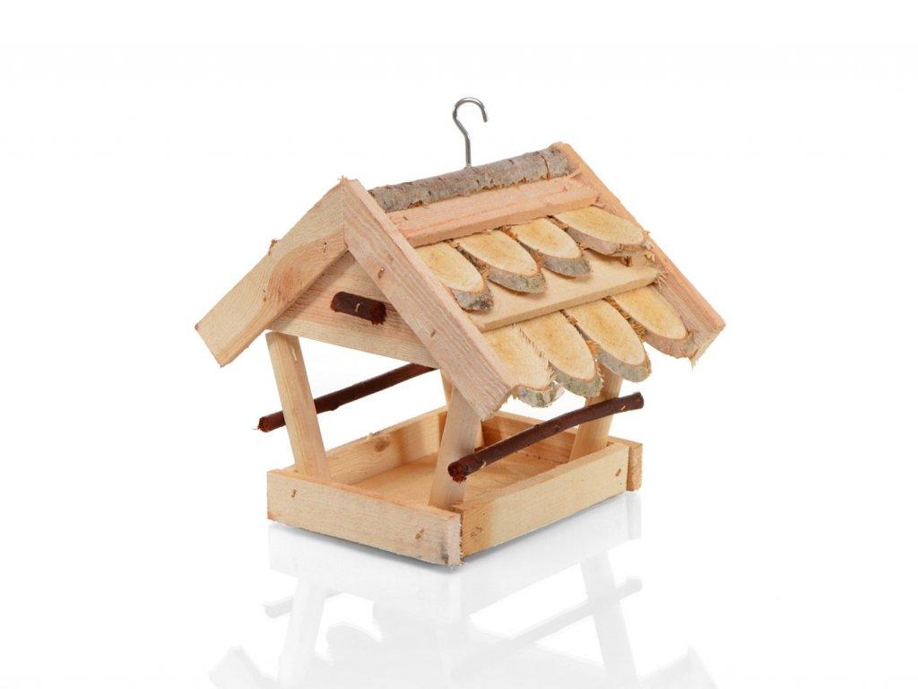 Krmítko pro ptáky ze dřeva