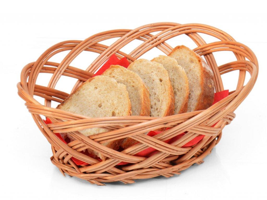 Proutěná ošatka na chléb I.
