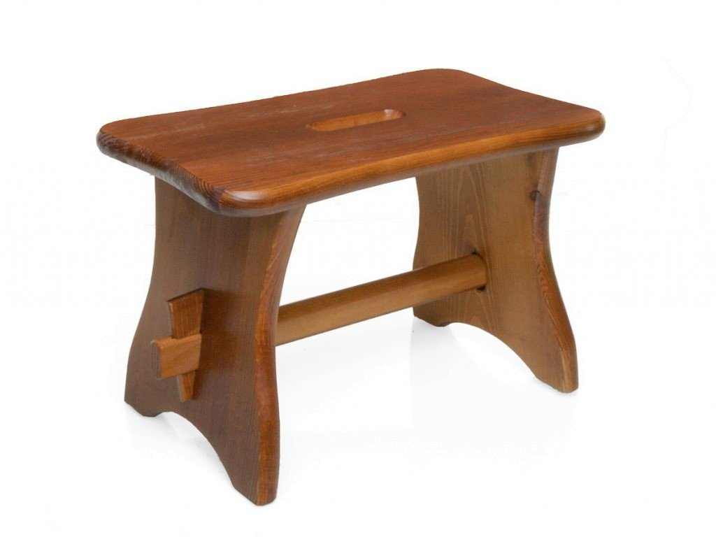 Dřevěná stolička - štokrle dub