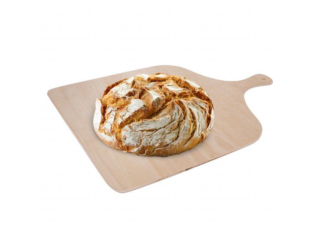 Bukové prkénko na pizzu či chleba - 41 x 29 cm
